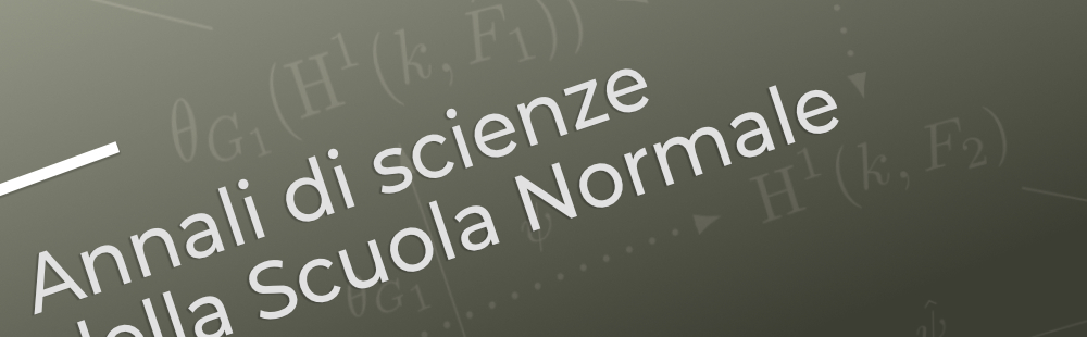 annali di scienze